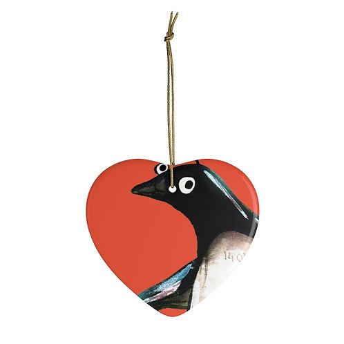 Paul The Penguin Ornament