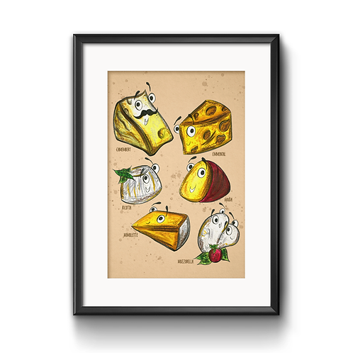 The Cheeses Print
