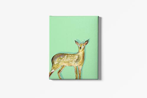Darren The Deer Canvas