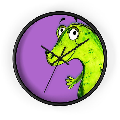 Clare The Crocodile Clock