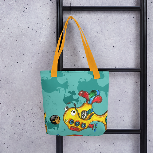 Yellow Submarine Tote