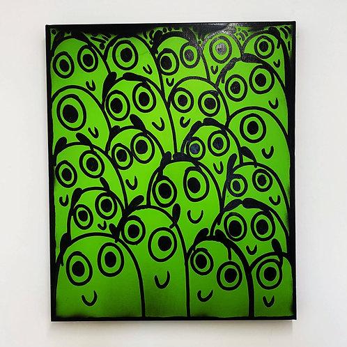 A Green Crowd