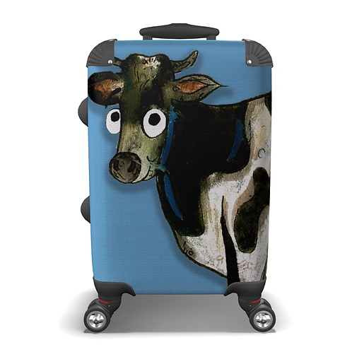 Colin The Cow Suitcase