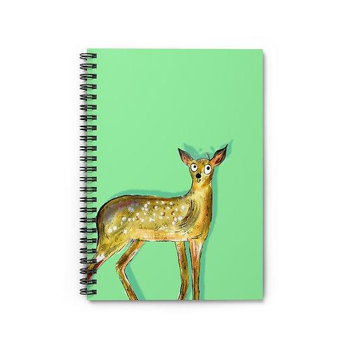 Darren The Deer Notebook