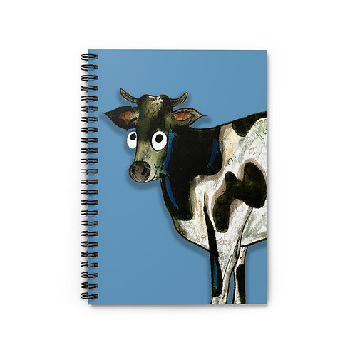 Colin The Cow Notebook