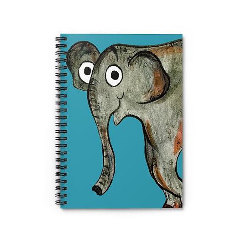 Erin The Elephant Notebook