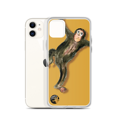 Matthew The Monkey iPhone Case