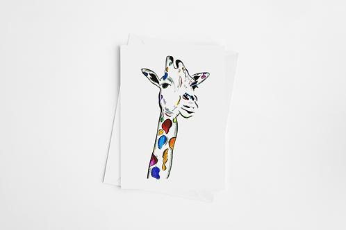 Gina The Giraffe Card