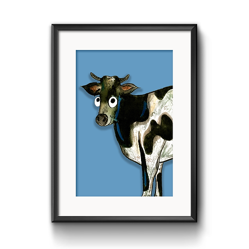 Colin The Cow Print