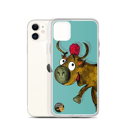 Yvonne The Yak iPhone Case
