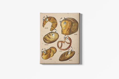The Breads Canvas