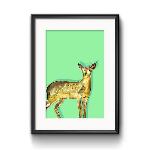 Darren The Deer Print