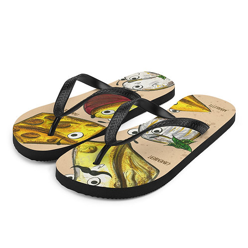 The Cheeses Flip-Flops