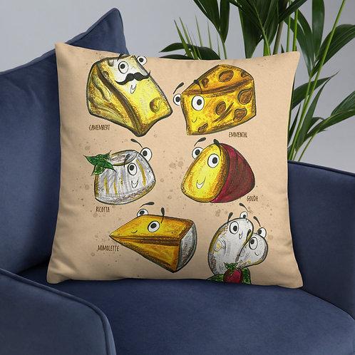 The Cheeses Cushion
