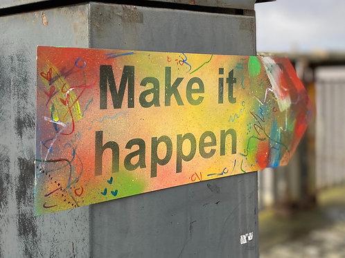 Make It Happen - POSITIVE SIGNS SET