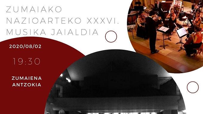 XXXVI. Festival Internacional de Música de Zumaia
