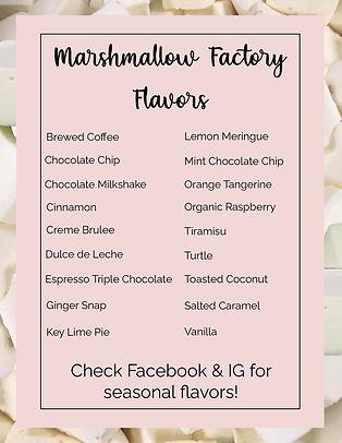Marshmallow Factory - Flavors JPEG.jpg