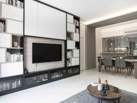 House Tour: White-and-wood three-bedroom condo apartment in River Valley