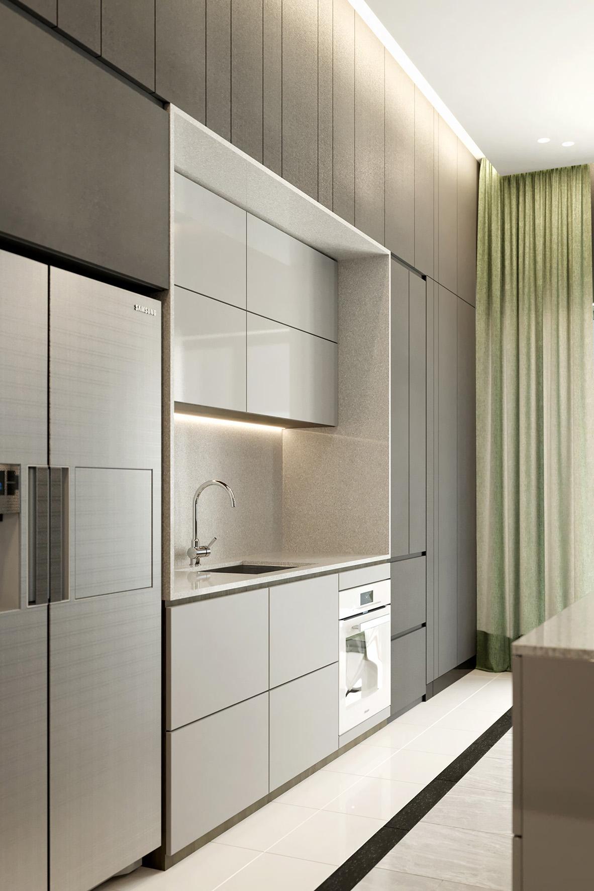 LV110 Dry Kitchen