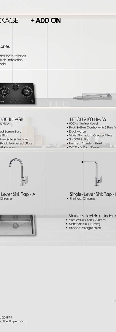 FYNER PKG 003 (Add on 01) Kitchen Access