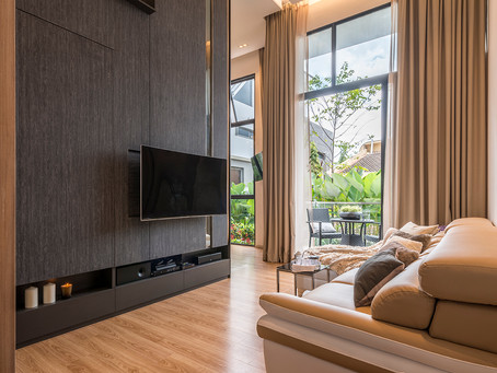 House Tour: Wood-look finishes create cosy and warm ambience in this three-bedroom condominium home