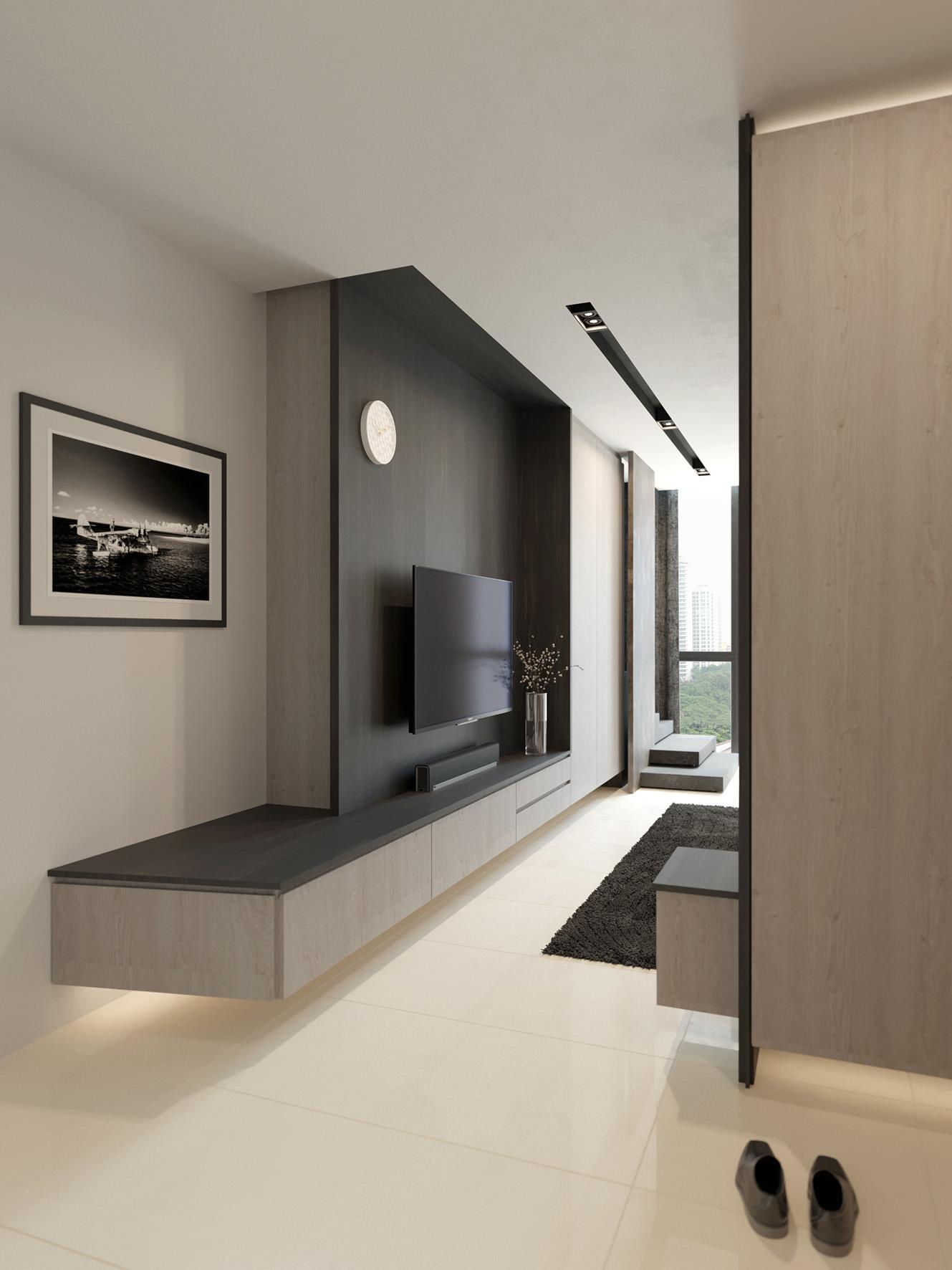 01 Foyer to Living