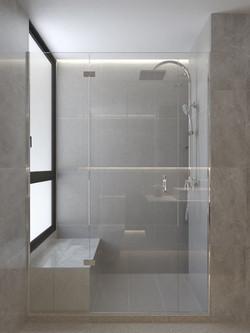 006 - Common Bath Shower Screen