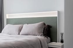 16 Master  + Bed Closeup