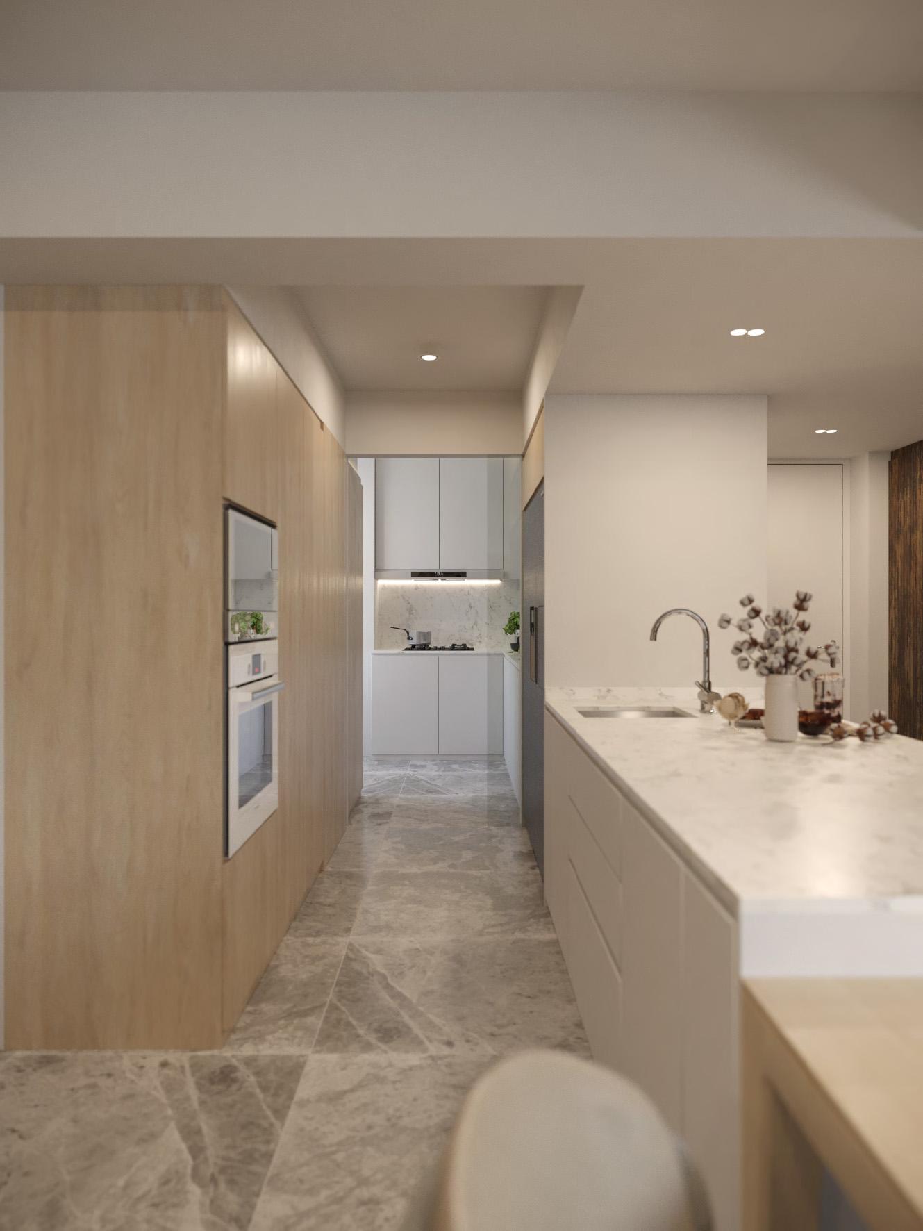 06 Dry & Wet Kitchen