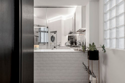 01 Foyer + Kitchen