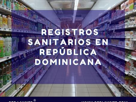 REGISTROS SANITARIOS EN REPÚBLICA DOMINICANA