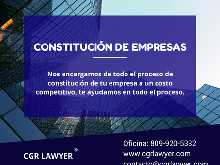 Constitución de empresas en República Dominicana
