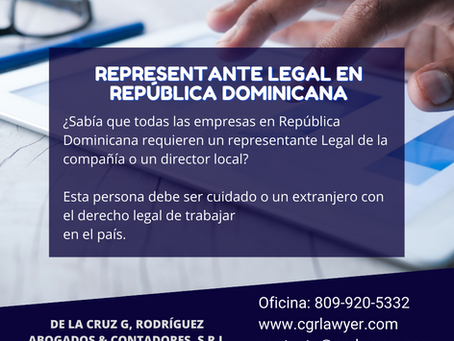 REPRESENTACIÓN LEGAL / BACK OFFICE