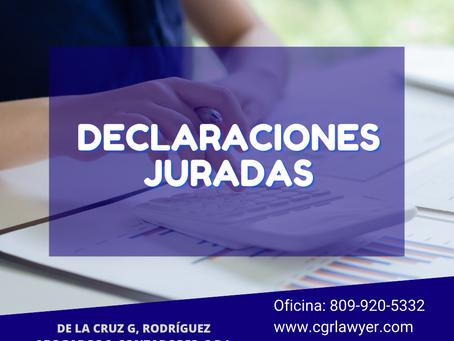 DECLARACIÓN DE IMPUESTOS SOBRE LA RENTA  (ISR) EN REP. DOMINICANA