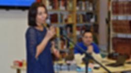 """Лауреат премии """"Образ"""" Татьяна Микунова на вечере в литературном салоне """"Побужанский"""""""