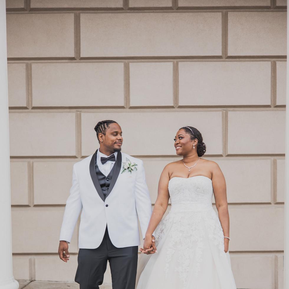 Justine + Tony Baltimore Wedding