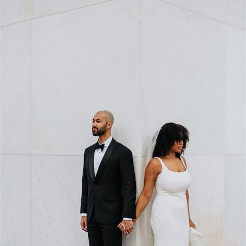 Marli + Aaron's Intimate Micro Wedding