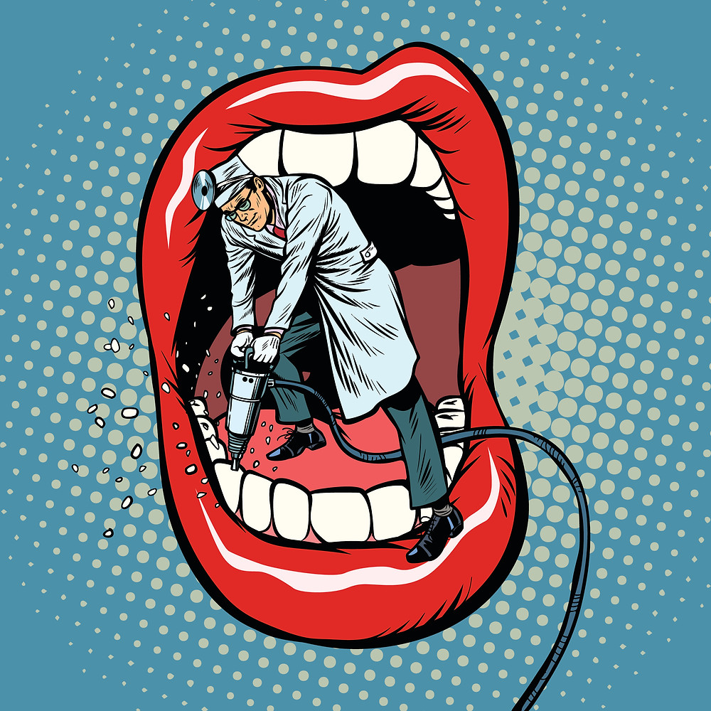 Short story about trust, dentists, good behaviour, crime doesn't pay, free and online. Dario Garcia.