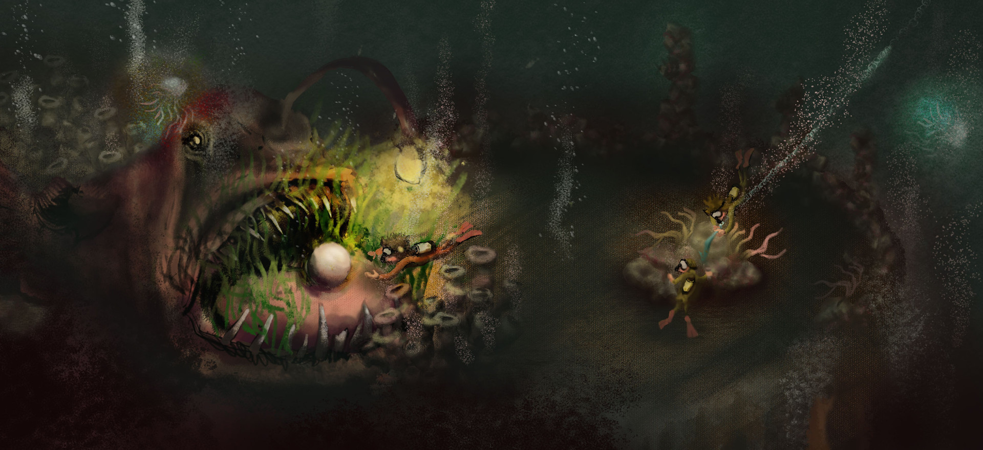 Terrible Twins: Down in the Deep