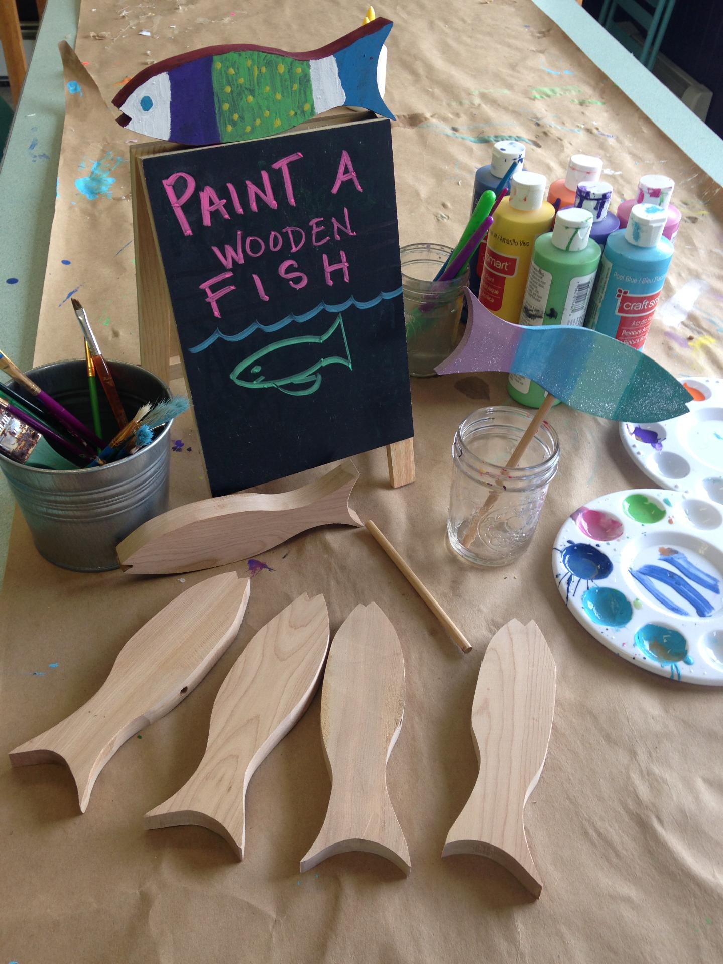 Paint a Fish