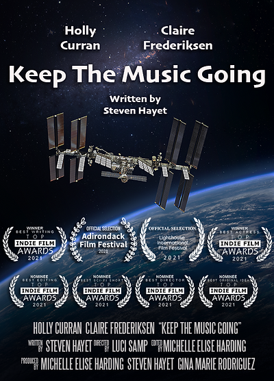 Keep the Music Going - Poster Laurels.pn