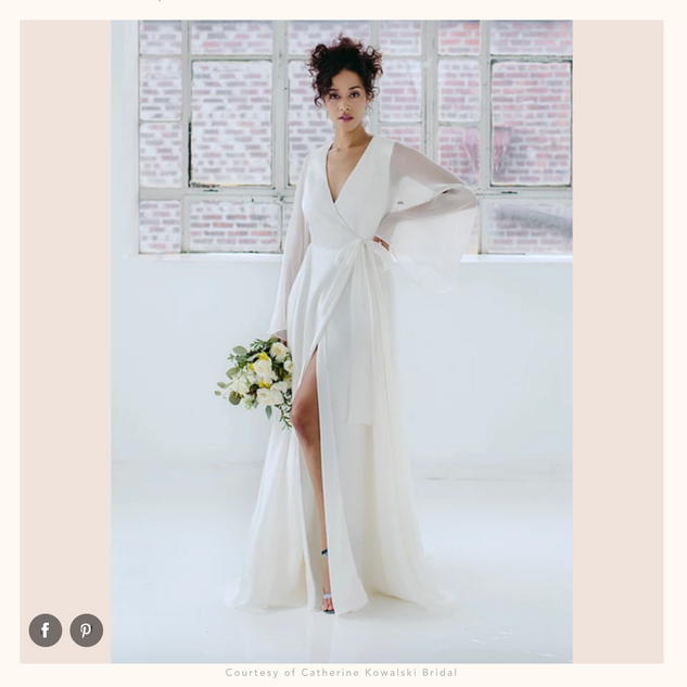 Brides: 84 Beach Wedding Dresses Perfect for a Seaside Ceremony