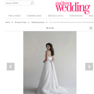 You & Your Wedding: Our Favourite Wedding Dresses From New York Bridal Market AW19