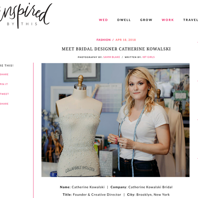 Inspired By This - Meet the Designer