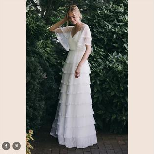 Brides: 49 Beautiful Bohemian Wedding Dresses That Range From Glamorous to Super Laid-Back