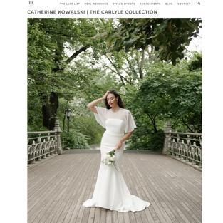 Tacari Weddings: CATHERINE KOWALSKI | THE CARLYLE COLLECTION