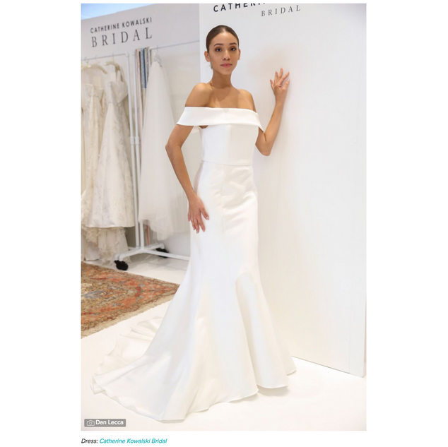 Wedding Wire: These Meghan Markle-Inspired Wedding Dresses Will Make You Feel like a Queen
