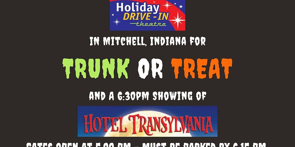 Trunk or Treat & Drive-In Movie