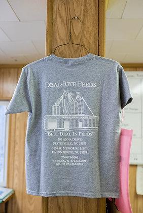 Deal-Rite Feeds Colored T-Shirt-Older Design