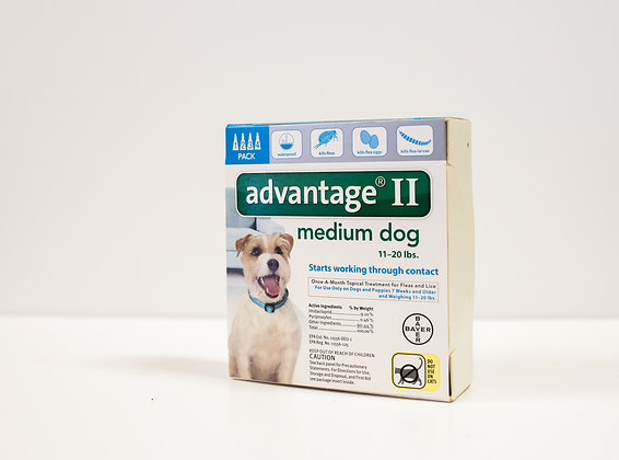 Advantage II, Medium Dog